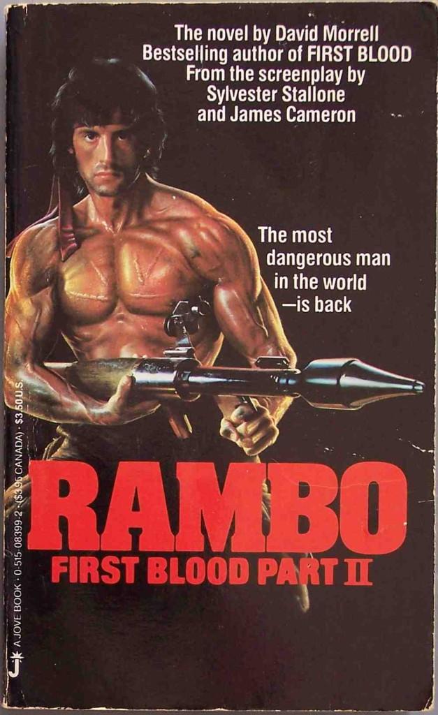 Kniha Rambo II
