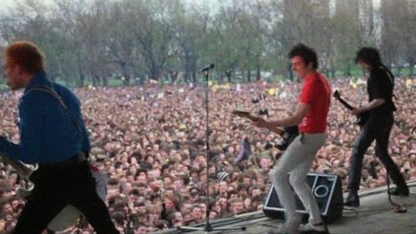 The Clash ve Victoria Park, 30. 4. 1978