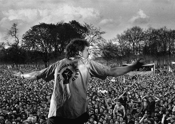 Tom Robinson Band ve Victoria Park, 30. 4. 1978
